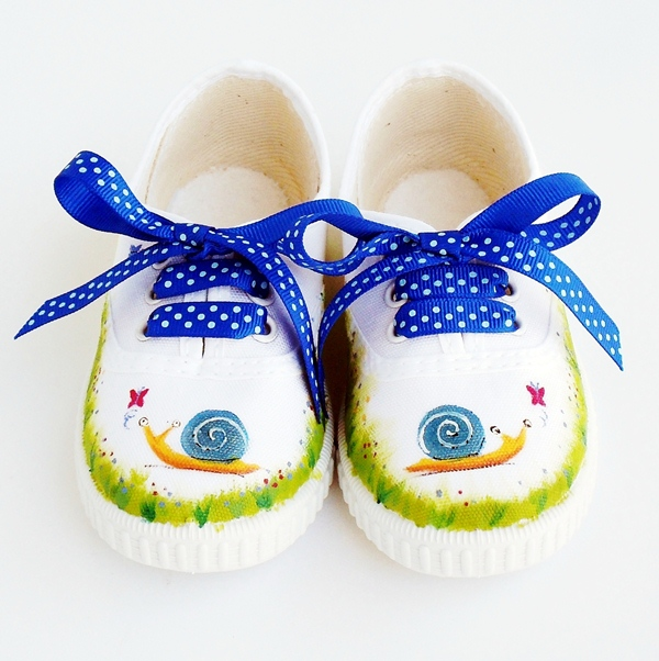 zapatillas-pintadas-caracol